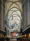 Cattedrale di Chichester Fotografie Stock Libere da Diritti
