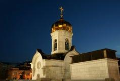 Cattedrale di Christ il salvatore Fotografie Stock Libere da Diritti