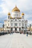 Cattedrale di Christ il salvatore, Mosca Fotografia Stock Libera da Diritti