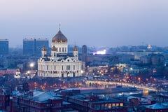 Cattedrale di Christ il salvatore a Mosca Fotografia Stock