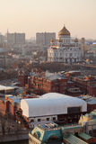 Cattedrale di Christ il salvatore a Mosca Immagine Stock