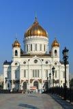 Cattedrale di Christ il salvatore a Mosca Immagini Stock Libere da Diritti