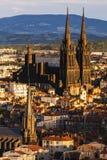Cattedrale di Clermont-Ferrand Fotografia Stock