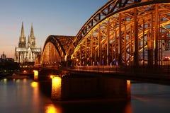 Cattedrale di Colonia Fotografia Stock