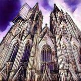 Cattedrale di Colonia Immagini Stock