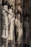 Cattedrale di Colonia della scultura Immagine Stock Libera da Diritti