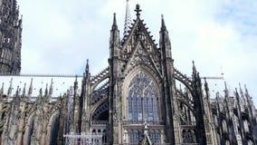 Cattedrale di Colonia Patrimonio mondiale un cattolico athedral video d archivio