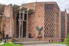 Cattedrale di Coventry fotografie stock