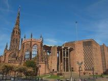 Cattedrale di Coventry Immagini Stock Libere da Diritti