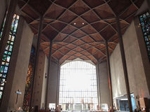 Cattedrale di Coventry a Coventry Immagine Stock Libera da Diritti