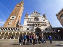 Cattedrale di Cremona immagini stock libere da diritti