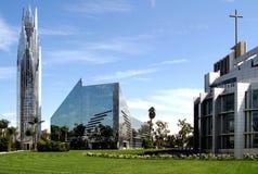 Cattedrale di cristallo in California Fotografia Stock Libera da Diritti