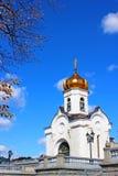 Cattedrale di Cristo il salvatore a Mosca Immagine Stock Libera da Diritti