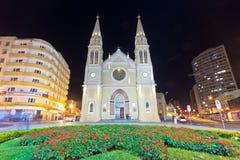 Cattedrale di Curitiba, Brasile Immagini Stock