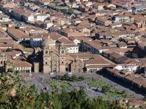 Cattedrale di Cusco - Perù Immagini Stock Libere da Diritti