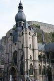 Cattedrale di Dinant Fotografia Stock Libera da Diritti