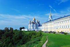 Cattedrale di Dormition (1160) in Vladimir, Russia Fotografia Stock