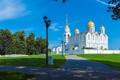 Cattedrale di Dormition (1160) in Vladimir, Russia Immagini Stock