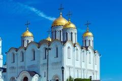 Cattedrale di Dormition (1160) in Vladimir, Russia Fotografia Stock Libera da Diritti