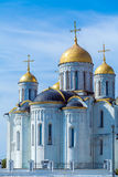 Cattedrale di Dormition (1160) in Vladimir, Russia Immagini Stock Libere da Diritti