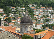 Cattedrale di Dubrovnik Fotografia Stock