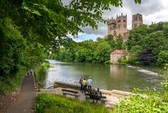 Cattedrale 1566 di Durham Fotografia Stock Libera da Diritti