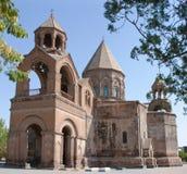 Cattedrale di Echmiadzin in Armenia Fotografia Stock Libera da Diritti