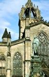 Cattedrale di Edinburg Immagini Stock