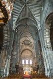 Cattedrale di Embrun, interna Fotografia Stock Libera da Diritti