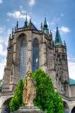 Cattedrale di Erfurt Fotografie Stock Libere da Diritti