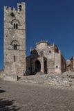Cattedrale di Erice Immagine Stock Libera da Diritti