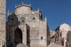 Cattedrale di Erice Fotografia Stock