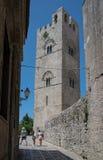 Cattedrale di Erice, Santa Maria Assunta La Sicilia, Italia Immagini Stock Libere da Diritti