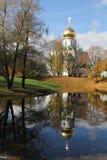 Cattedrale di Fiodorovskiy a Pushkin Immagine Stock Libera da Diritti