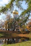 Cattedrale di Fiodorovskiy a Pushkin Immagine Stock