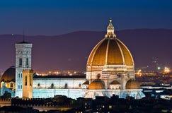 Cattedrale di Firenze Fotografia Stock