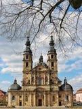 Cattedrale di Fulda, Germania fotografie stock libere da diritti