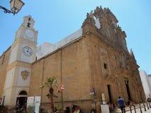 Cattedrale di Gallipoli Fotografia Stock Libera da Diritti