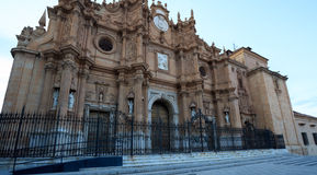 Cattedrale di Gaudix Fotografie Stock Libere da Diritti