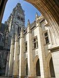 Cattedrale di giro. Fotografia Stock