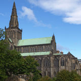 Cattedrale di Glasgow Immagini Stock