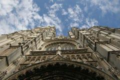 Cattedrale di Gotic a Anversa Immagini Stock