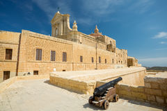Cattedrale di Gozo, Victoria, Malta Fotografia Stock Libera da Diritti