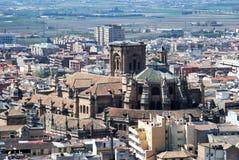 45 - cattedrale di Granada Immagini Stock Libere da Diritti