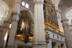 Cattedrale di Granada, Andalusia, Spagna Immagine Stock Libera da Diritti