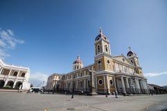 Cattedrale di Granada, Nicaragua Fotografia Stock Libera da Diritti