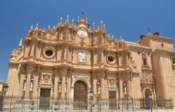 Cattedrale di Guadix - Spagna Fotografia Stock Libera da Diritti