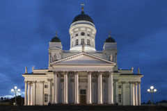 Cattedrale di Helsinki Fotografia Stock