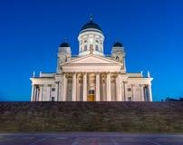 Cattedrale di Helsinky Fotografie Stock Libere da Diritti
