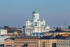 Cattedrale di Helsinky Fotografia Stock